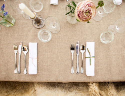 4 tips for a perfect summer table