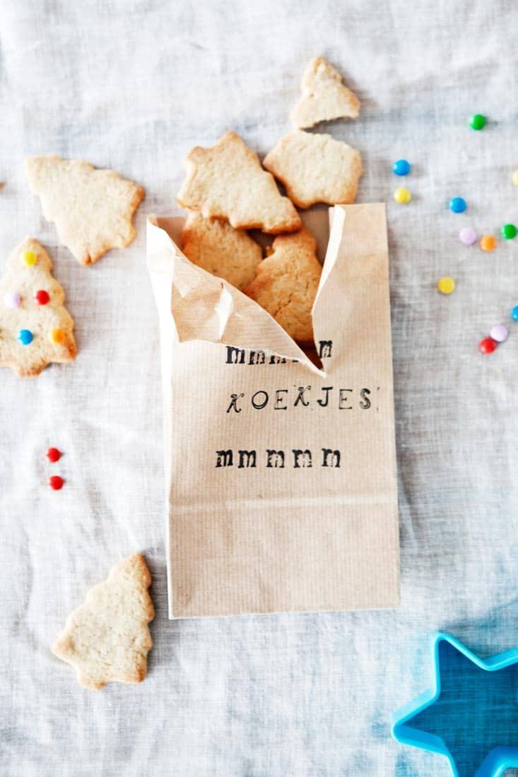 Vers gebakken kerstboom koekjes - Fabulous Mama