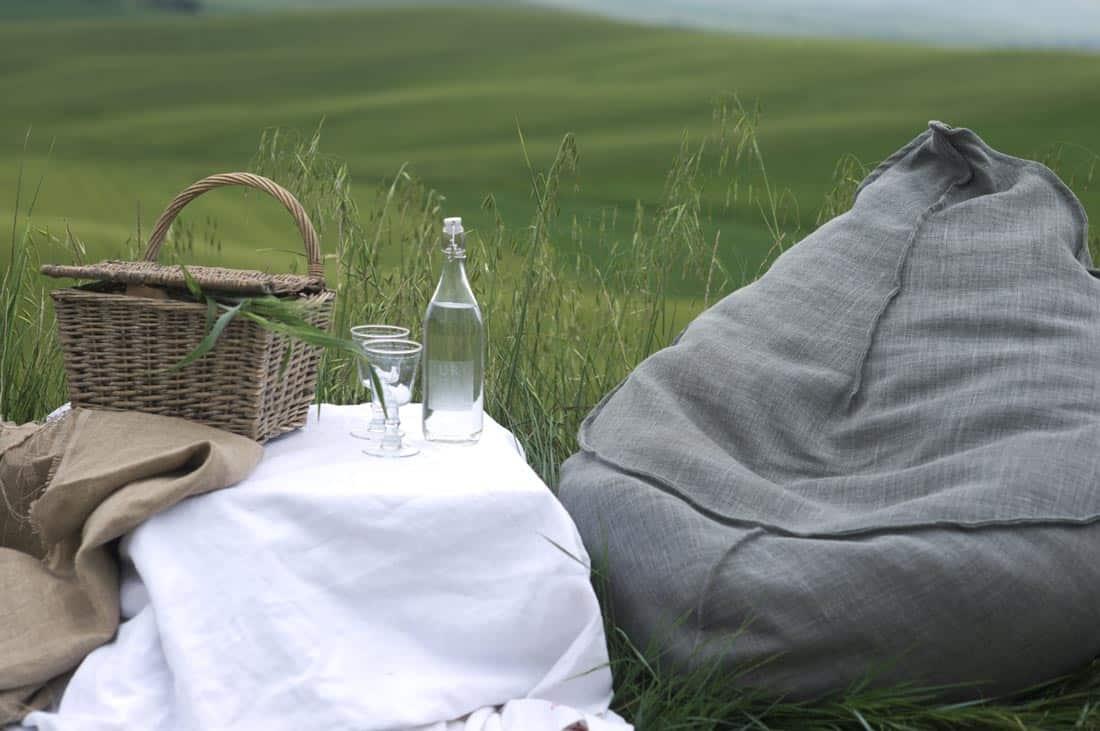 Picknick in de heuvels bij La Saracina - La Saracina