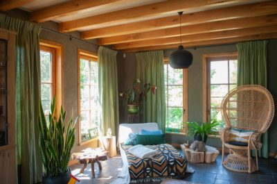 Natuurlijke tinten met rotan meubels