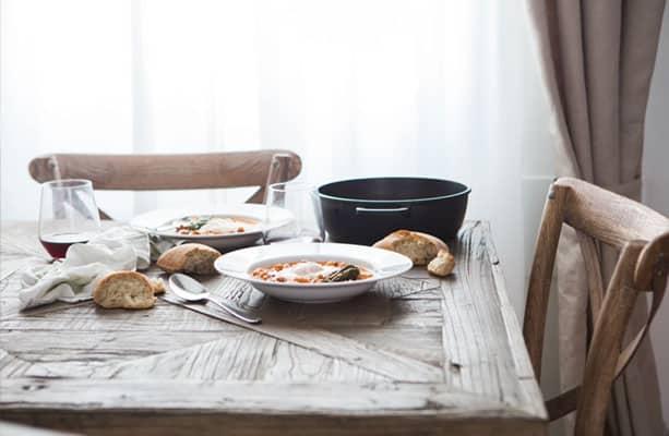 winterse maaltijd soep