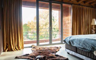 Rustgevende slaapkamer in de veluwe