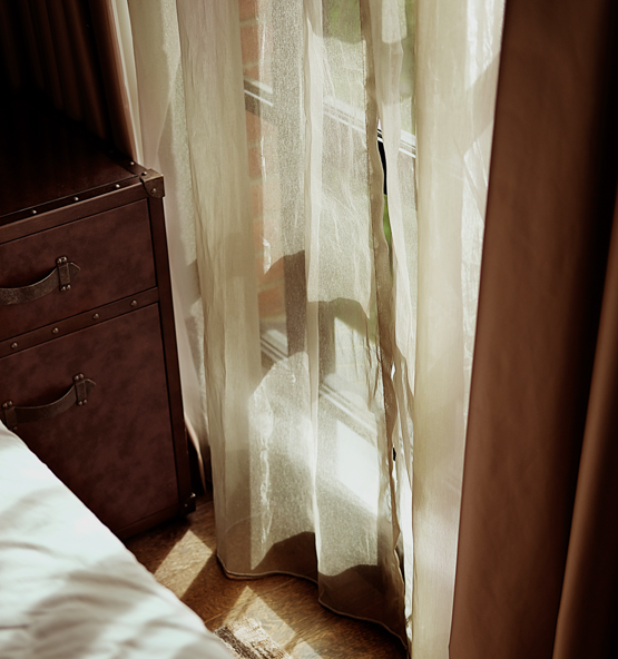 Transparant en verduisterende gordijnen