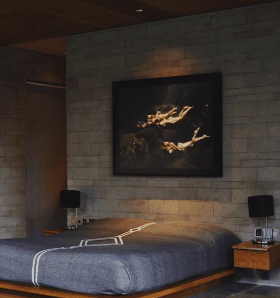 Hotelkamer donkere kleuren